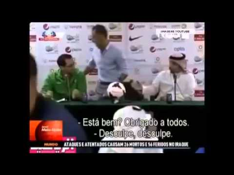 [Football] Coach Vítor Pereira explodes in press conference in Saudi Arabia