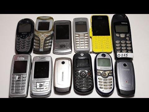 Огромная посылка редких ретро телефонов Nokia 5110, Nokia 200, Nokia 5100 part 2