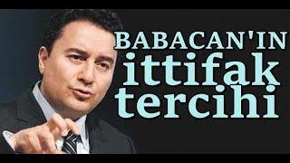 Ali Babacan'ın partisi hangi ittifakta yer alacak?