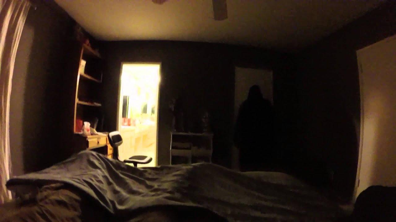 Sleep Paralysis(demon)Shadow people Caught on tape? - YouTube