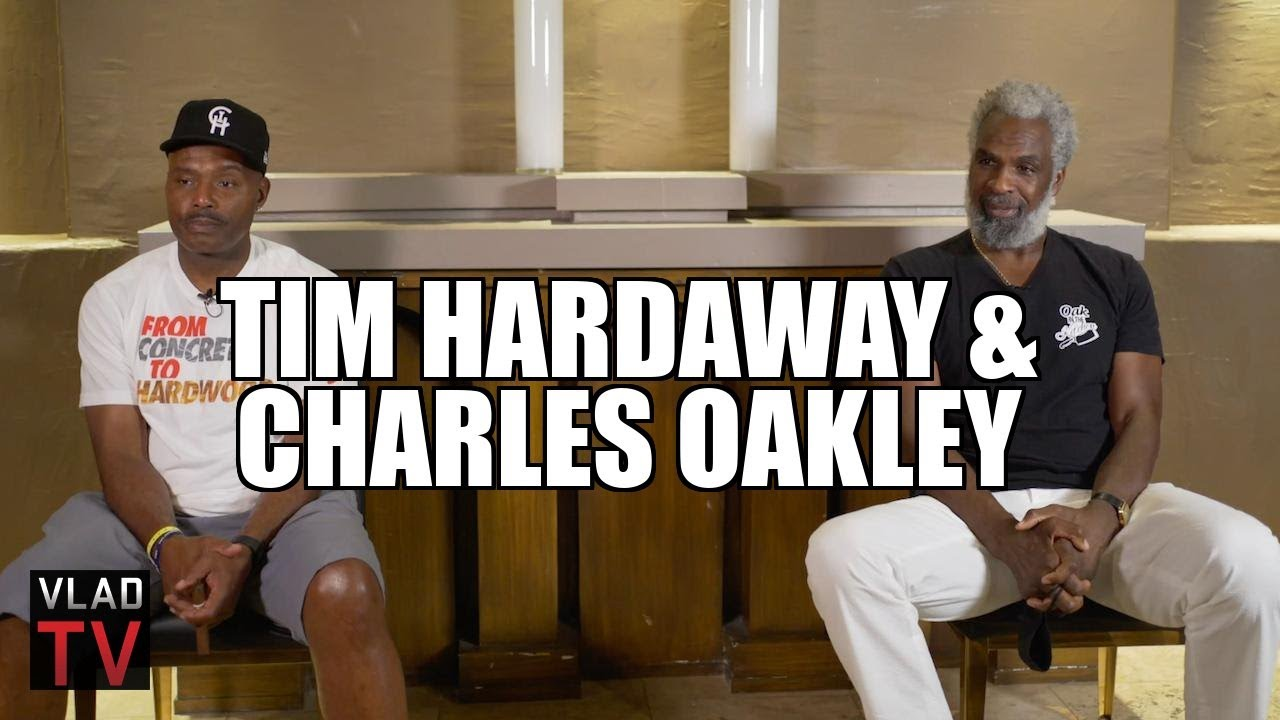 """Charles Oakley on Being the Bulls' """"Cop"""" who Protected Jordan from Cheap Shots (Part"""