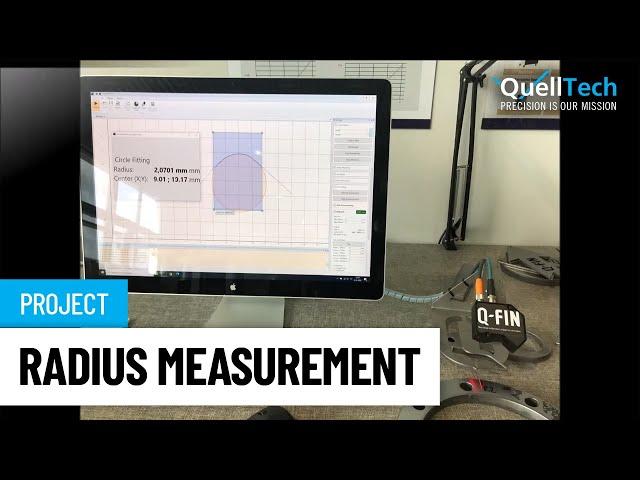 Radius Measurement After Deburring and Edge Rounding Sheet Metal Parts
