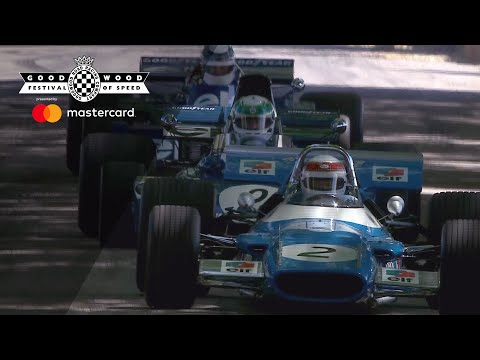 Sir Jackie Stewart and sons incredible triple Tyrrell moment