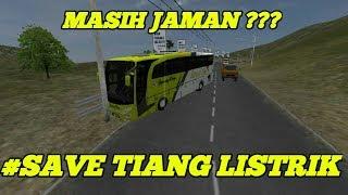 Gambar cover Bus Simulator Indonesia (BUSSID) | MASIH JAMAN SAVE TIANG LISTRIK???