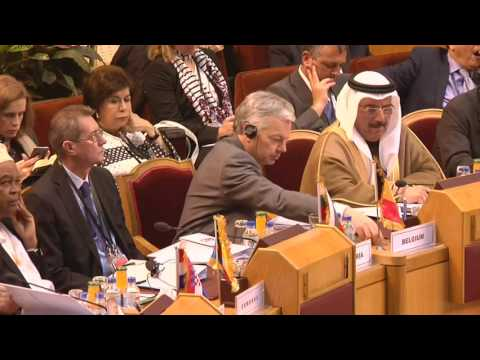 HRVP Federica MOGHERINI in Cairo, Egypt for the 4th EU-League of Arab States' Ministerial Meeting