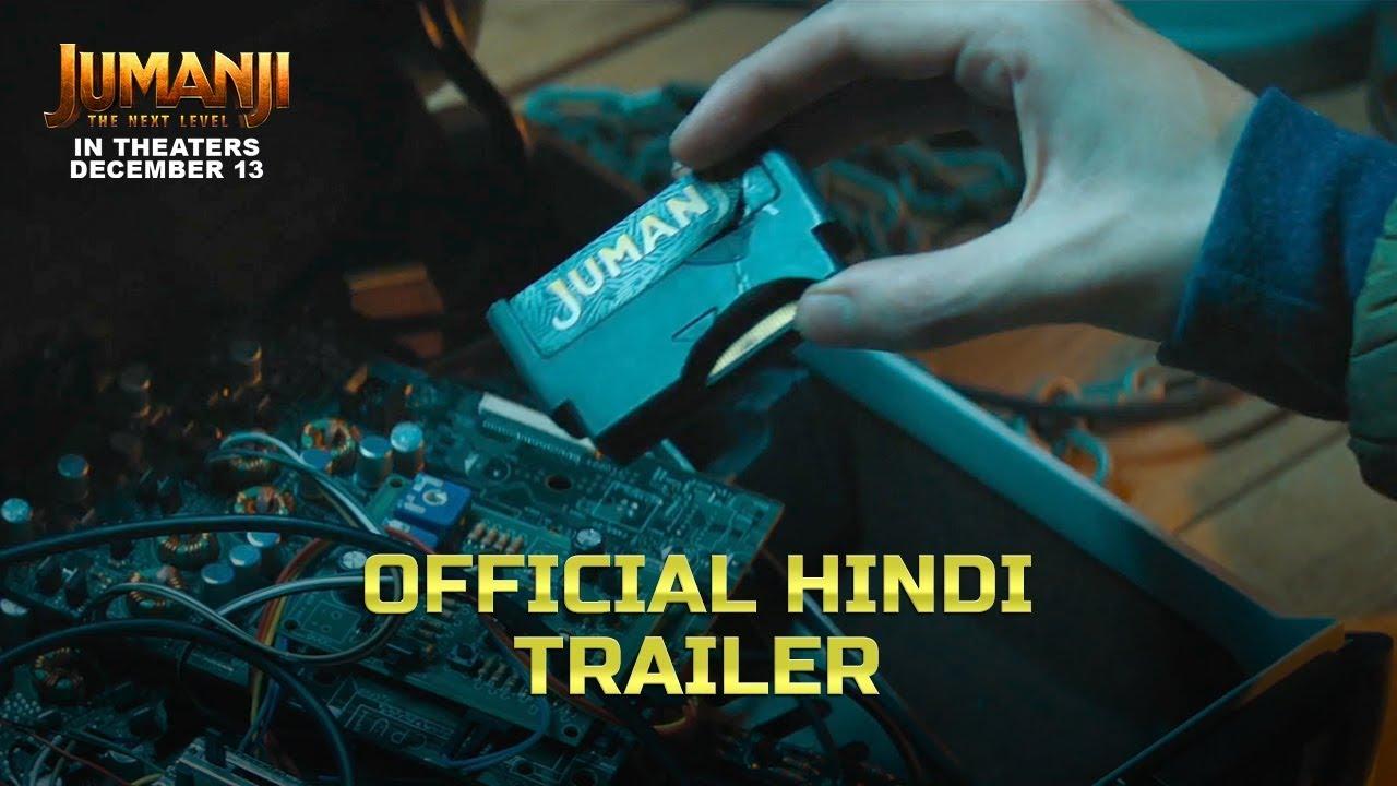 Download Jumanji:The Next Level | Official Trailer- Hindi | Dwayne Johnson | Kevin Hart | In Cinemas-Dec 13