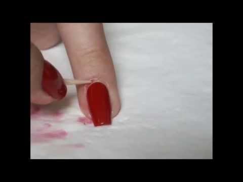 Как убрать лак вокруг ногтей