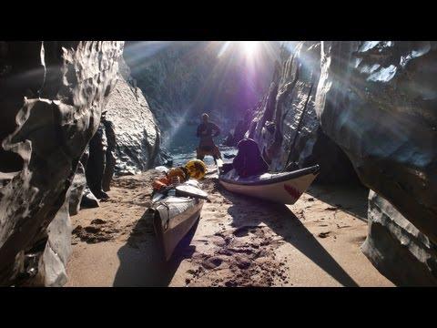 Sea Kayaking the Caves Coast - Mid Wales.