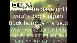 3 Doors Down Everytime You go Acoustic Version