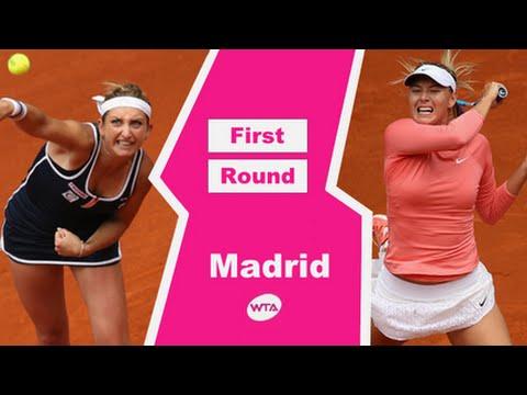 Maria Sharapova VS Timea Bacsinszky Highlight Madrid 2015 R1