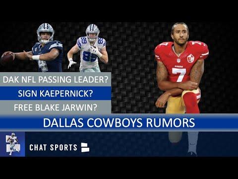 Cowboys Rumors On Blake Jarwin, Dak Prescott's Play, Hiring Greg Roman & Signing Colin Kaepernick?