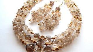 Моделирование ожерелий,урок № 7,колье- гривна