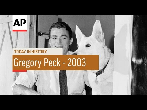 Remembering Gregory Peck - 2003 | Today in History | 12 June 16