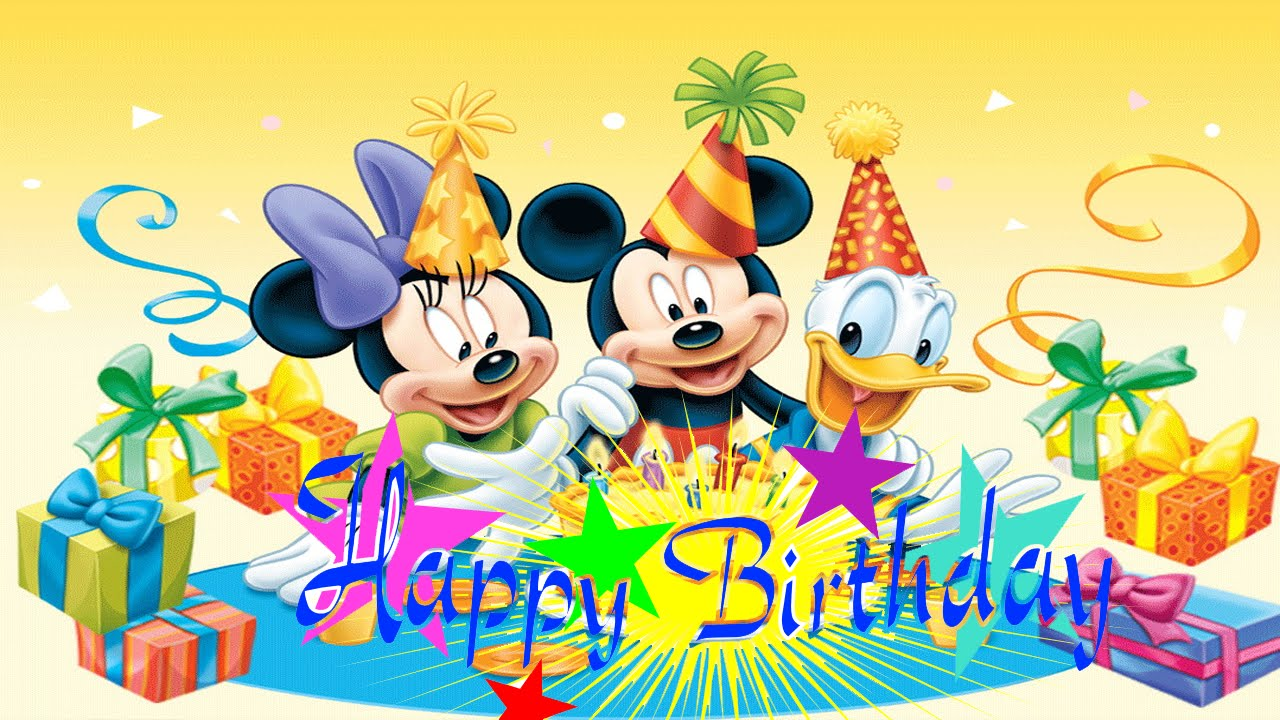 Mickey Mouse Happy Birthday | My Blog