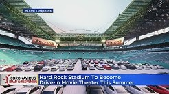 Hard Rock Stadium To Become Drive-In Movie Theater This Summer