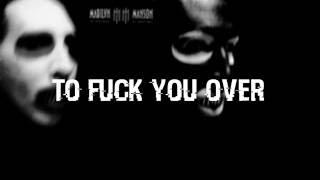 Marilyn Manson,  Para-noir [Lyrics]