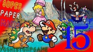 ¿¿1 Millón de Rubíes??【Super Paper Mario】Ep.15