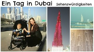 DUBAI Urlaub - Was ihr an einem Tag erleben könnt! I AnnaBirdie