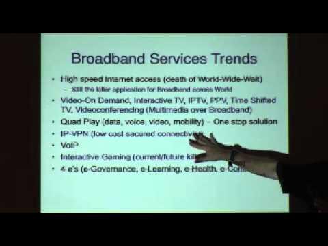 Emerging Broadband Technical Developments