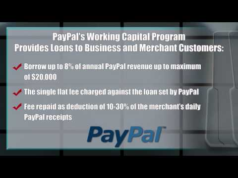 Paypal's Working Capital Program - Small Business News