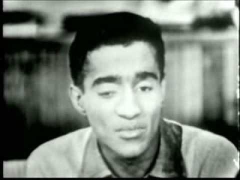 Sammy Davis in 1955 Interview part 1 of 2