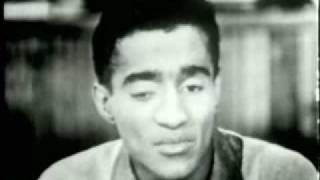 Sammy Davis in 1955 Interview part 1 of 2