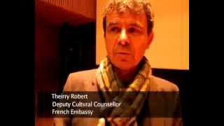 French Deputy Cultural Counsellor at Bonjour India 2013