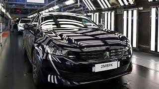 Vidéo Peugeot 508 II : les coulisses de la production à Mulhouse ( www.feline.cc )