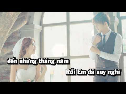 Suy Nghĩ Trong Em - Kim Joon Shin [Video Karaoke full HD]