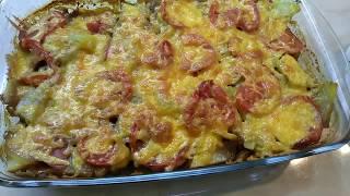 Мясо с картошкой под румяной корочкой Рецепт подойдёт на праздничный стол
