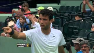 Dimitrov Anticipates Murray In Monday Miami Hot Shot