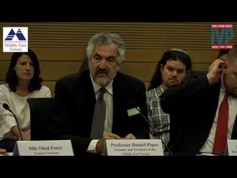 Mr. Daniel Pipes at the  Knesset Israel Victory Caucus
