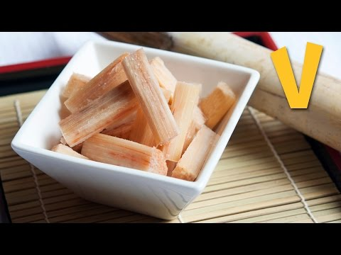 How to Prepare and Chop a Sugar Cane