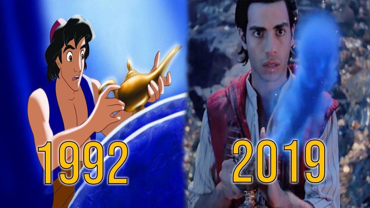 Evolution of Aladdin in Movies (1992-2019)