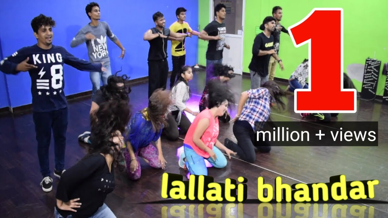 Lallati Bhandar  Jogwa   Marathi Folk Dance   Dance Floor Studio   Kunal More