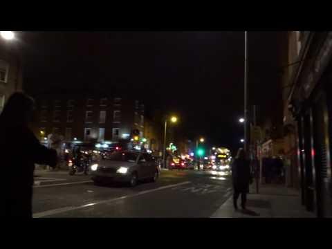 U2 - Crowd Walking Downtown Aftershow - Dublin - 07-22-2017