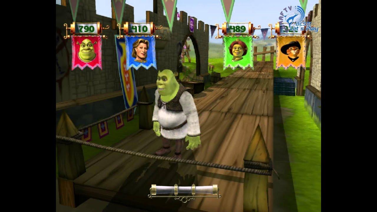 видео игра шрек 3