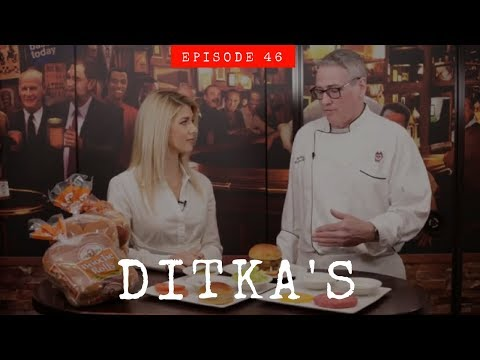 BEST CLASSIC BURGER | Ditka's Chicago | Eat Travel Rock TV