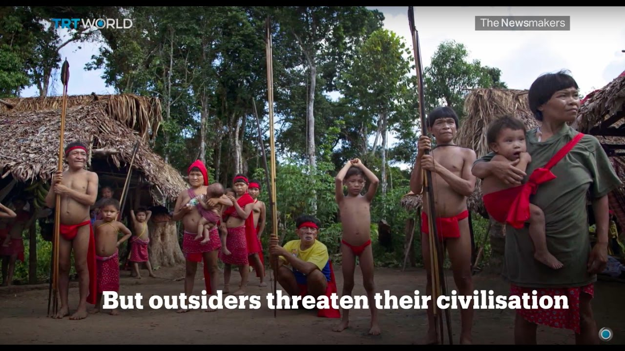 Pictures Of Uncontacted Tribes