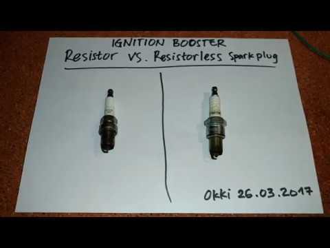 Simple Plasma    Ignition     Resistor vs NonResistor spark