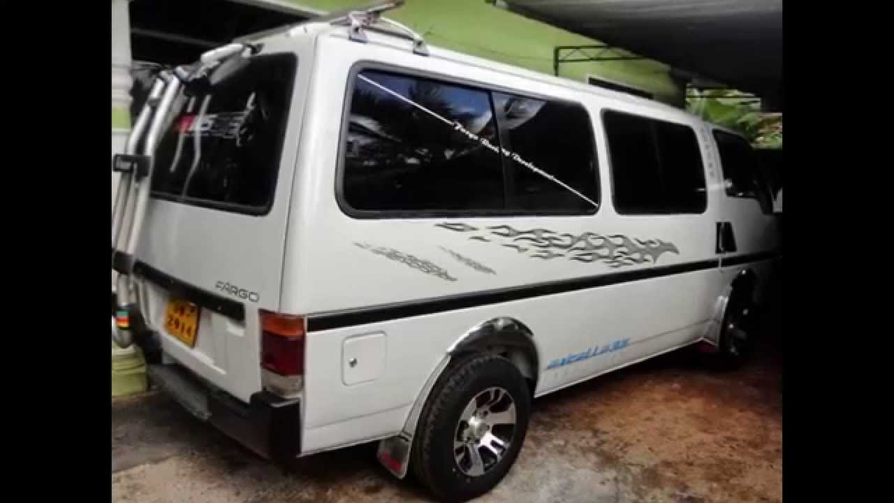 ISUZU Fargo van for sale in Srilanka - www ADZking lk