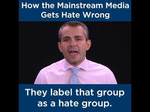 How the Mainstream Media Gets Hate Wrong | The Heritage Foundation