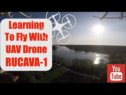 Learning To Fly/ MJX X101/ UAV Drone RUCAVA-1
