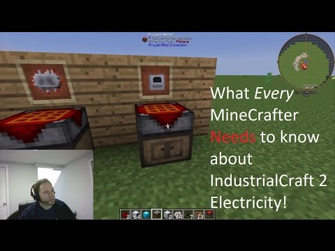 Minecraft - FTB - How to Generate Electricity - Generators/Solar Panels/BatBoxes