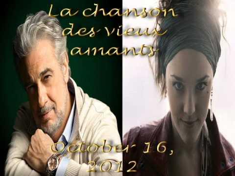 Plácido Domingo & Zaz - La Chanson des Vieux Amants