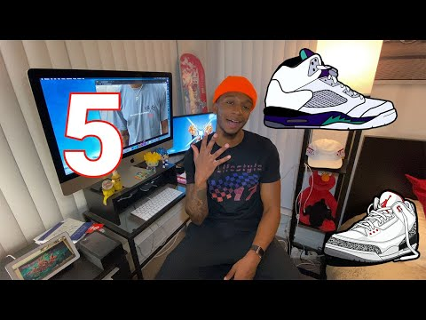 5 Tips For Getting Into The Sneaker Game