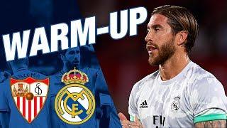 Warm-up | Sevilla 0-1 Real Madrid | HALA MADRID!!
