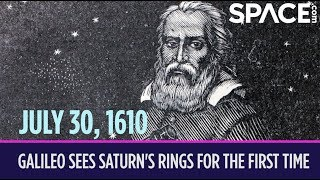 OTD in Space – July 30: Galileo Sees Saturn