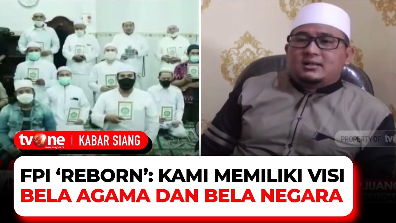 """Download Deklarasi """"FPI Reborn"""" Ramai di Medsos, Apa Bedanya?   Kabar Siang tvOne"""