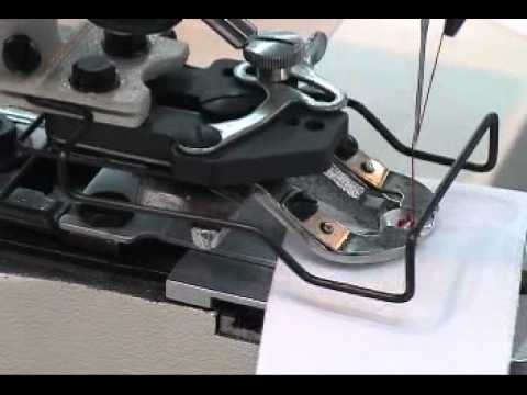 Single-thread, Chainstitch Button Sewing Machine with Knot-tying Mechanism
